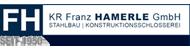 Hamerle Stahlbau | Konstruktionsschlosserei Logo